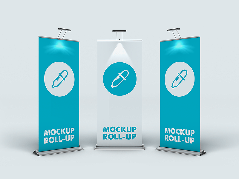 Roll-up, banner