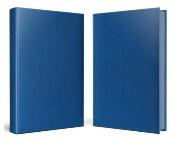 agenda datata albastra