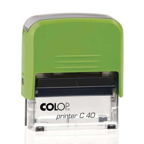 PRINTER C40 GREEN TRANSPARENT